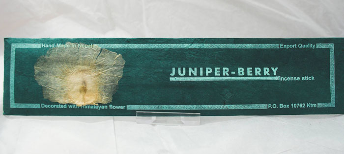 Himalayan Flower Juniper Berry Incense