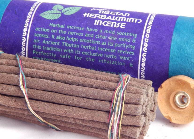 Tibetan Herbal Mint Incense