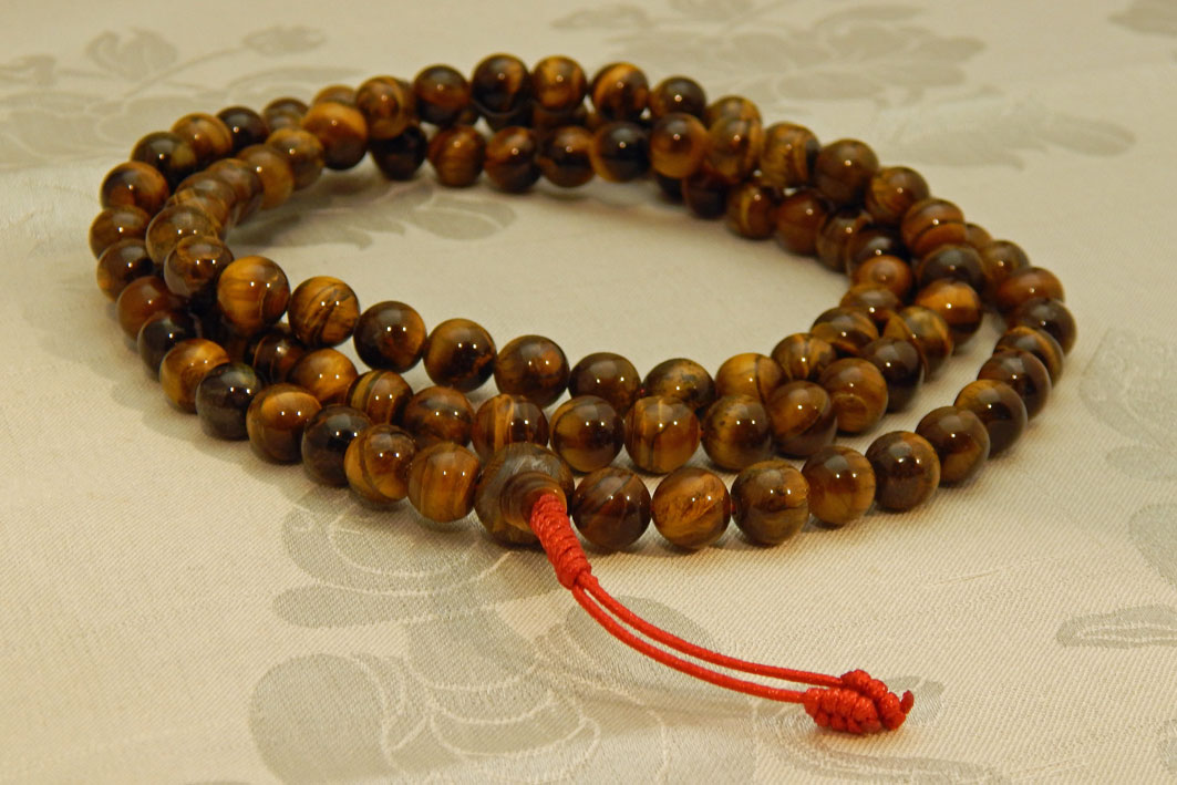 Tiger's Eye Mala 10mm