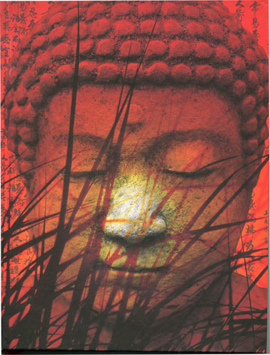 Buddha in Art - Plain Notebook